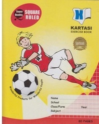 Exercise Book Kartasi A5 Squared 80 pages