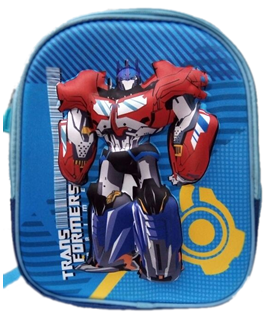 Transformers 3D backpack for preschool