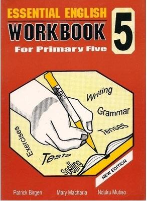 Essential English Workbook Std 5