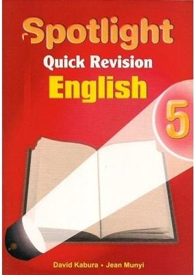 Spotlight Quick Revision English Std 5