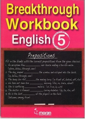 Breakthrough Workbook English Std 5