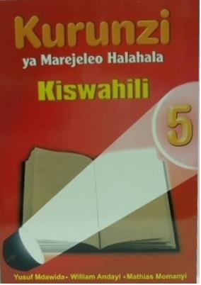 Kurunzi Ya Marejeleo Halahala Darasa La 5