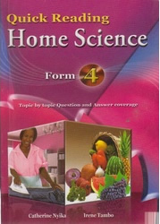 Quick Reading Home Science Form 4