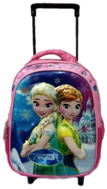 Frozen 3D trolley for preschool