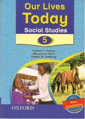 Our Lives Today Social Studies Std 5