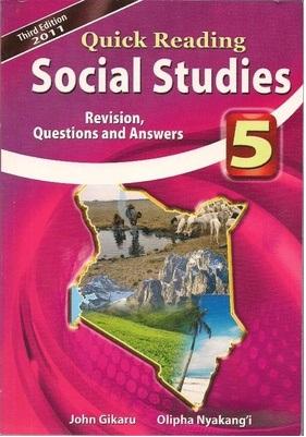 Quick Reading Social Studies Std 5