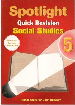 Spotlight Quick Revision Social Studies Std 5