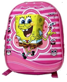Spongebob 3D backpack for preschool