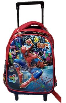 Spiderman 3D trolley for preschool