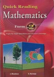 Quick Reading Mathematics Form 2