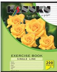 Exercise Book Kasuku A5 Ruled 200 pages