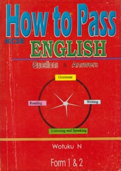 How To Pass English Form 1,2