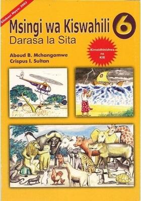 Msingi wa Kiswahili Darasa La 6