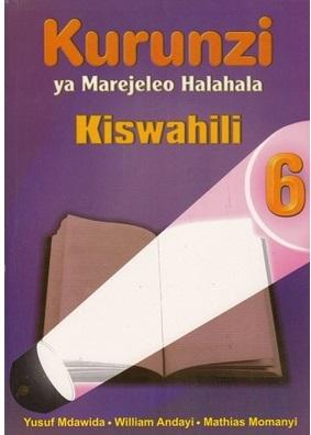 Kurunzi Ya Marejeleo Halahala Darasa La 6