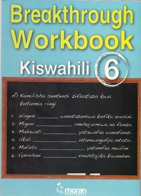 Primary Breakthrough  Workbook  Kiswahili Std 6