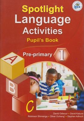 Spotlight Language Activities Pre-Prim 1 (Appr)