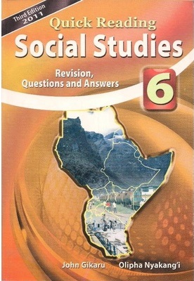 Quick Reading Social Studies Std 6