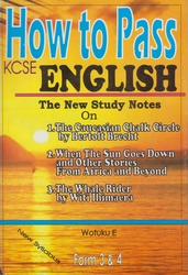 How To Pass English Form 3,4