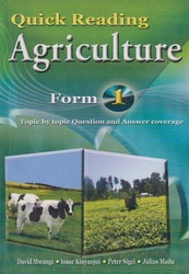 Quick Reading Agriculture form 1