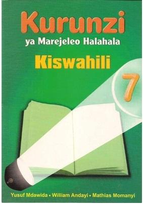 Kurunzi Ya Marejeleo Halahala Darasa La 7