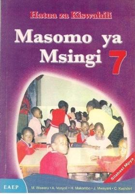 Masomo Ya Msingi Darasa La 7