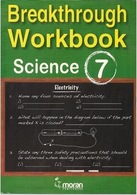 Primary Breakthrough Workbook Science Std 7