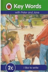 Ladybird 2c I Like To Write Peter and Jane  ladybird series