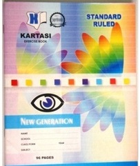 Exercise Book Kartasi A5 Ruled 96 Pages