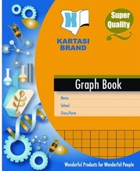 Exercise Book Kartasi A5 10x8 Graph Book 96 pages
