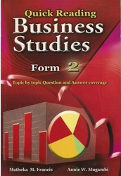 Quick Reading Business Studies Form 2