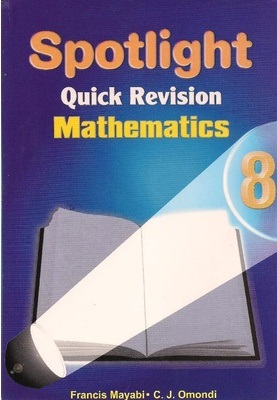 Spotlight Quick Revision Mathematics Std 8