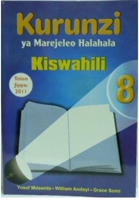 Kurunzi Ya Marejeleo Halahala Darasa La 8