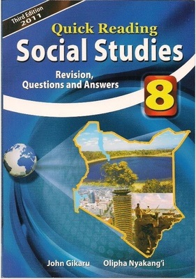 Quick Reading Social Studies Std 8
