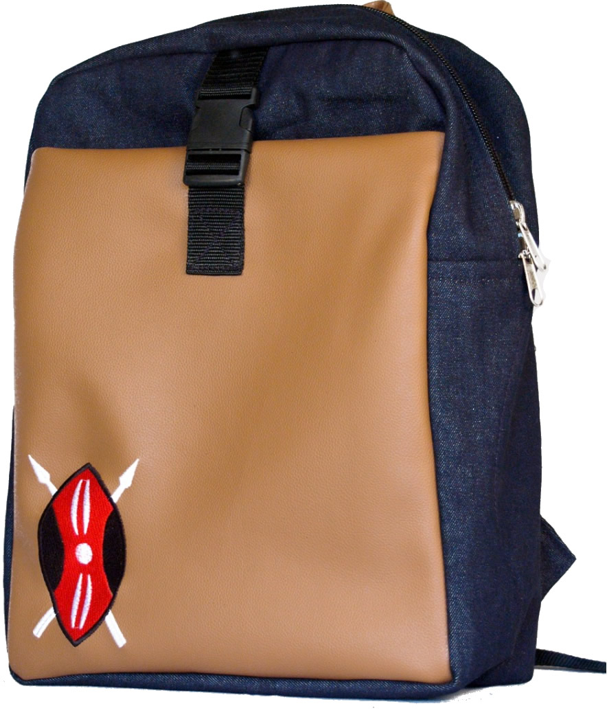 Tafsiri Collection College Bags Denim and synthetic brown