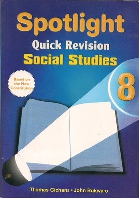 Spotlight Quick Revision Social Studies Std 8