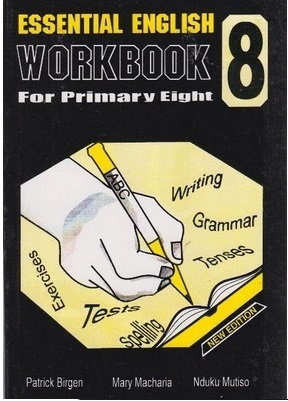 Essential English Workbook Std 8