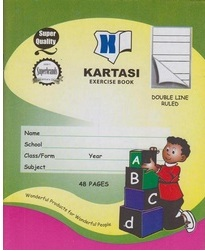 Exercise Book Kartasi A5 Ruled 48 pages