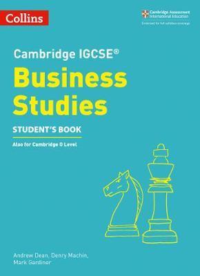 Cambridge IGCSE (TM) Business Studies Student's Book