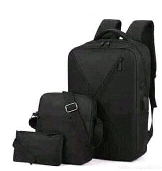 Backpack 3in1 Black Type C
