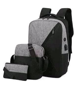 Backpack 3in1 Grey Black Type C