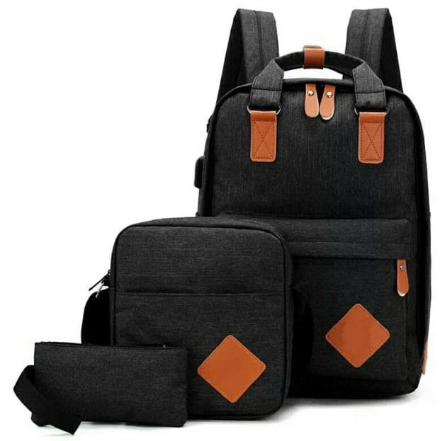 Backpack 3in1 Black Type E