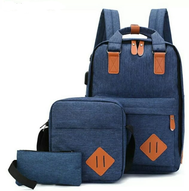 Backpack 3in1 Navy Blue Type E
