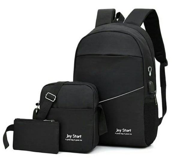 Backpack 3in1 Black Type D