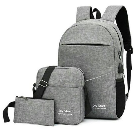 Backpack 3in1 Grey Type D