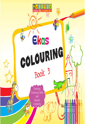 Ekas Colouring Book 3