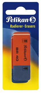 Erasers Rubbers Pelikan  BR40 2s 50
