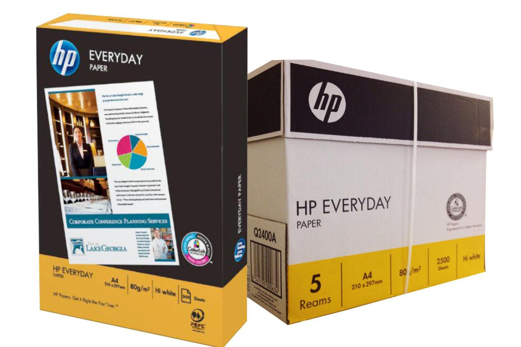 Hp Photocopy/Printing A4 Paper Carton