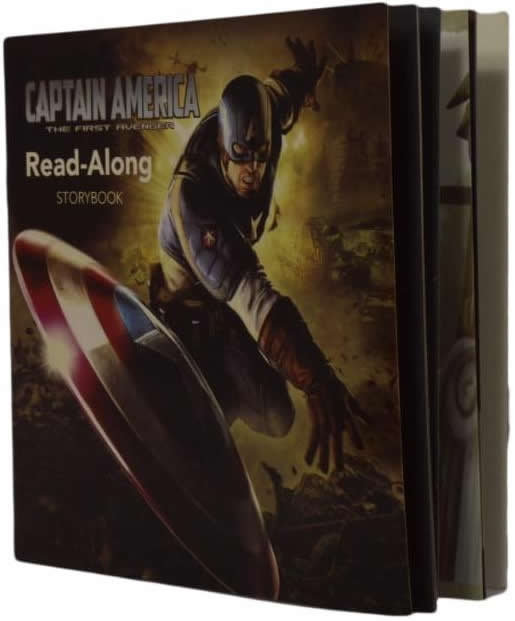 CAPTAIN AMERICAN Read-Along Storybook