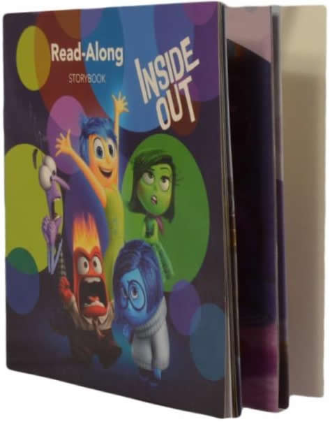 Inside Out Read-Along Storybook