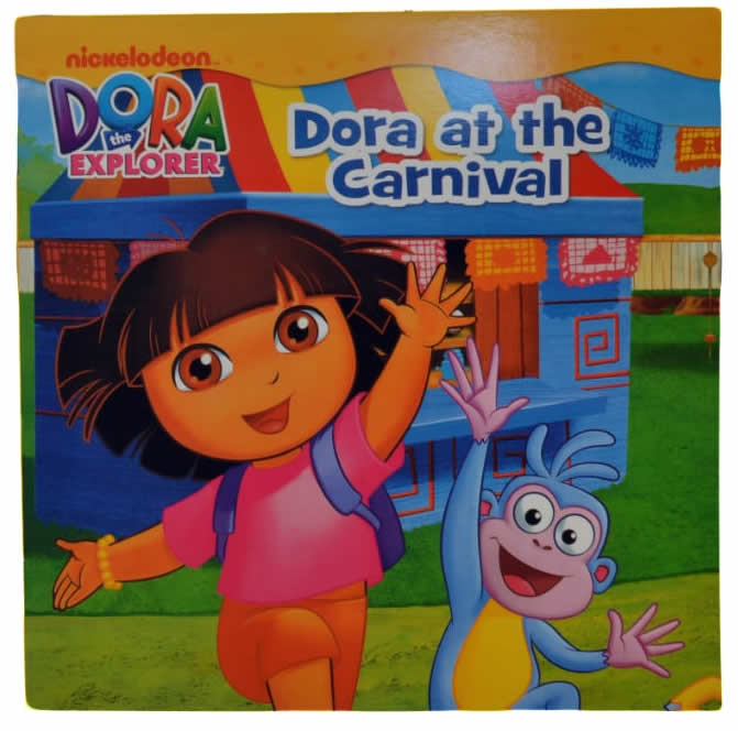 Dora At The Carnivore Read Along Story Book
